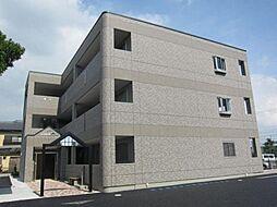 愛知県北名古屋市九之坪西城屋敷の賃貸マンションの外観