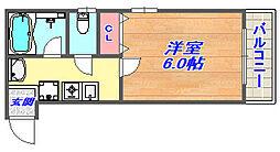 Y2ビルディング[203号室]の間取り