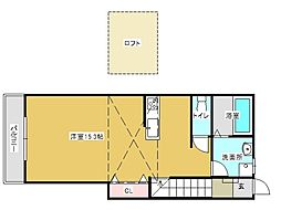 レグルス垂水[2階]の間取り
