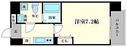 アドバンス大阪ルーチェ[7階]の間取り
