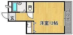 ラルゴ四条畷[3階]の間取り