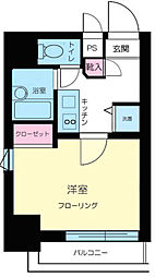 東京都目黒区下目黒2丁目の賃貸マンションの間取り