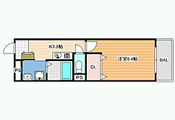 メゾンドミキ・パート1[3階]の間取り