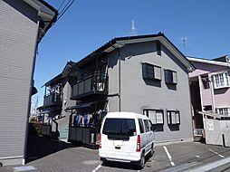 埼玉県ふじみ野市松山2丁目の賃貸アパートの外観