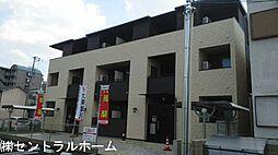 大阪府堺市北区新堀町2丁の賃貸アパートの外観
