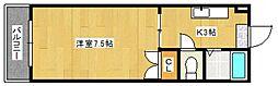 インターハイツ[2階]の間取り