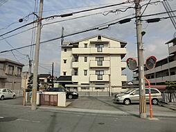 大阪府茨木市上穂積2丁目の賃貸マンションの外観