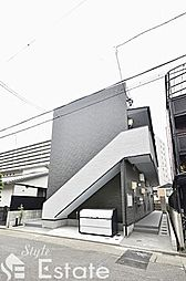 愛知県名古屋市西区浄心2丁目の賃貸アパートの外観