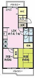 第2豊ロイヤルマンション[2階]の間取り