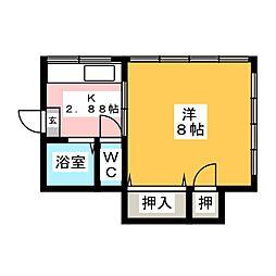 伊藤ビル[2階]の間取り