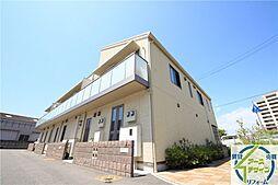 兵庫県明石市大久保町福田の賃貸アパートの外観
