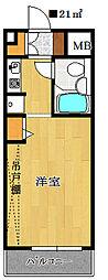 鎌ヶ谷ハイツ[3階]の間取り
