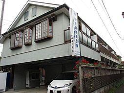 東京都立川市栄町6丁目の賃貸アパートの外観