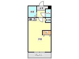 兵庫県神戸市垂水区西舞子5丁目の賃貸マンションの間取り