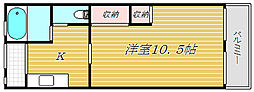 平井ショッピングセンター[5階]の間取り