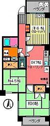 渡辺ビル[9階]の間取り
