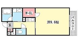 湊川・六甲ハイツ[303号室]の間取り