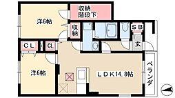 八田駅 6.6万円