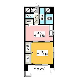 エスポワール[2階]の間取り
