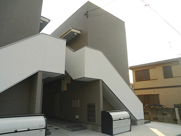 兵庫県尼崎市大西町1丁目の賃貸アパートの外観