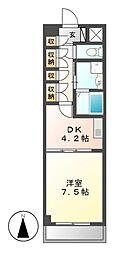 FOUR LEAVES前田[5階]の間取り