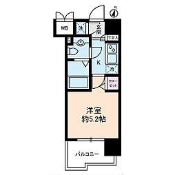 ヴェルステージ川崎[11階]の間取り