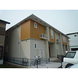 静岡県藤枝市前島の賃貸アパートの外観