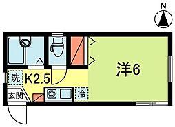 コスモ高円寺[1階]の間取り