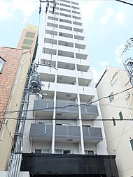 大阪府大阪市天王寺区上汐の賃貸マンションの外観
