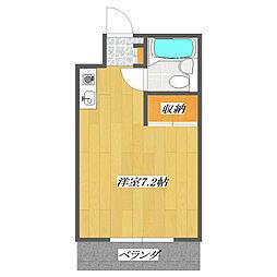 東京都江戸川区東葛西9の賃貸マンションの間取り