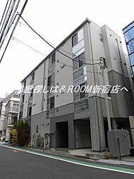 リベルタ東新宿[1階]の外観