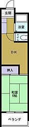 サンファミリー港晴[2階]の間取り