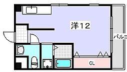 香里ヶ丘ビル[305号室]の間取り