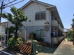 東京都練馬区小竹町2の賃貸アパートの外観