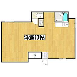 JPアパートメント守口V[1階]の間取り