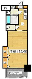 ロイヤル博多駅前224[12階]の間取り