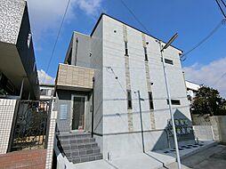 兵庫県神戸市須磨区大手町2丁目の賃貸アパートの外観