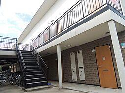 滋賀県東近江市八日市東本町の賃貸アパートの外観