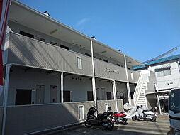 兵庫県尼崎市塚口本町1丁目の賃貸アパートの外観