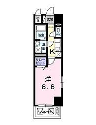 プレシオール小幡[4階]の間取り