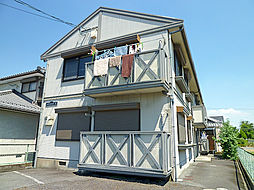 滋賀県草津市下笠町の賃貸アパートの外観