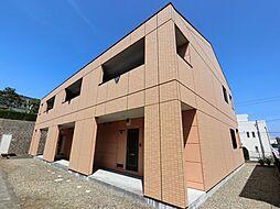 千葉県成田市久住中央2の賃貸アパートの外観