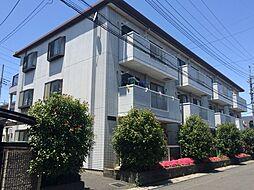 埼玉県春日部市浜川戸1丁目の賃貸マンションの外観