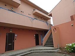 第2ガーネットハウスB[1階]の外観