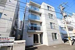 北海道札幌市豊平区旭町3丁目の賃貸マンションの外観