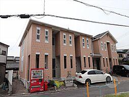 大阪府吹田市岸部中4丁目の賃貸アパートの外観