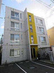 北海道札幌市白石区南郷通15丁目南の賃貸マンションの外観