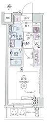 リヴシティ横濱インサイトII[302号室]の間取り