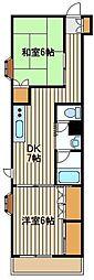 シャトレ泉[2階]の間取り