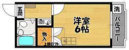 セジュール松原[1階]の間取り